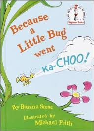 Because a little bug went ka-choo