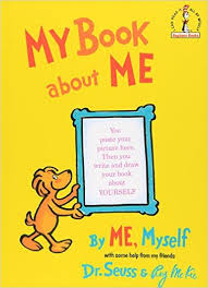dr seuss my book about me, by me myself