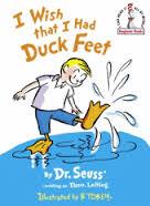 I wish I had duck feet